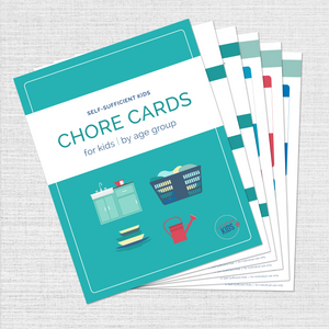 Chore Cards + Room Cleaning Cards – 20% Off