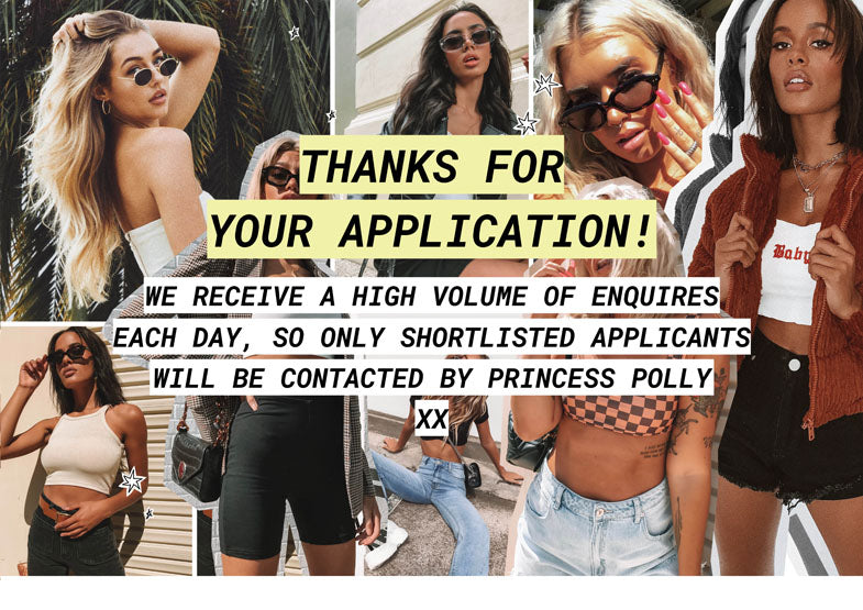 thanks for your application
