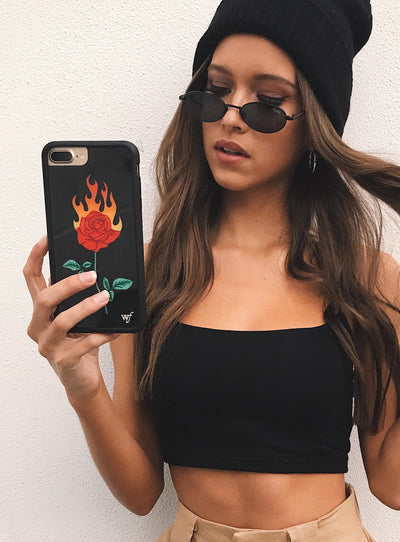 Wildflower Burning Love iPhone 6/7/8 Case