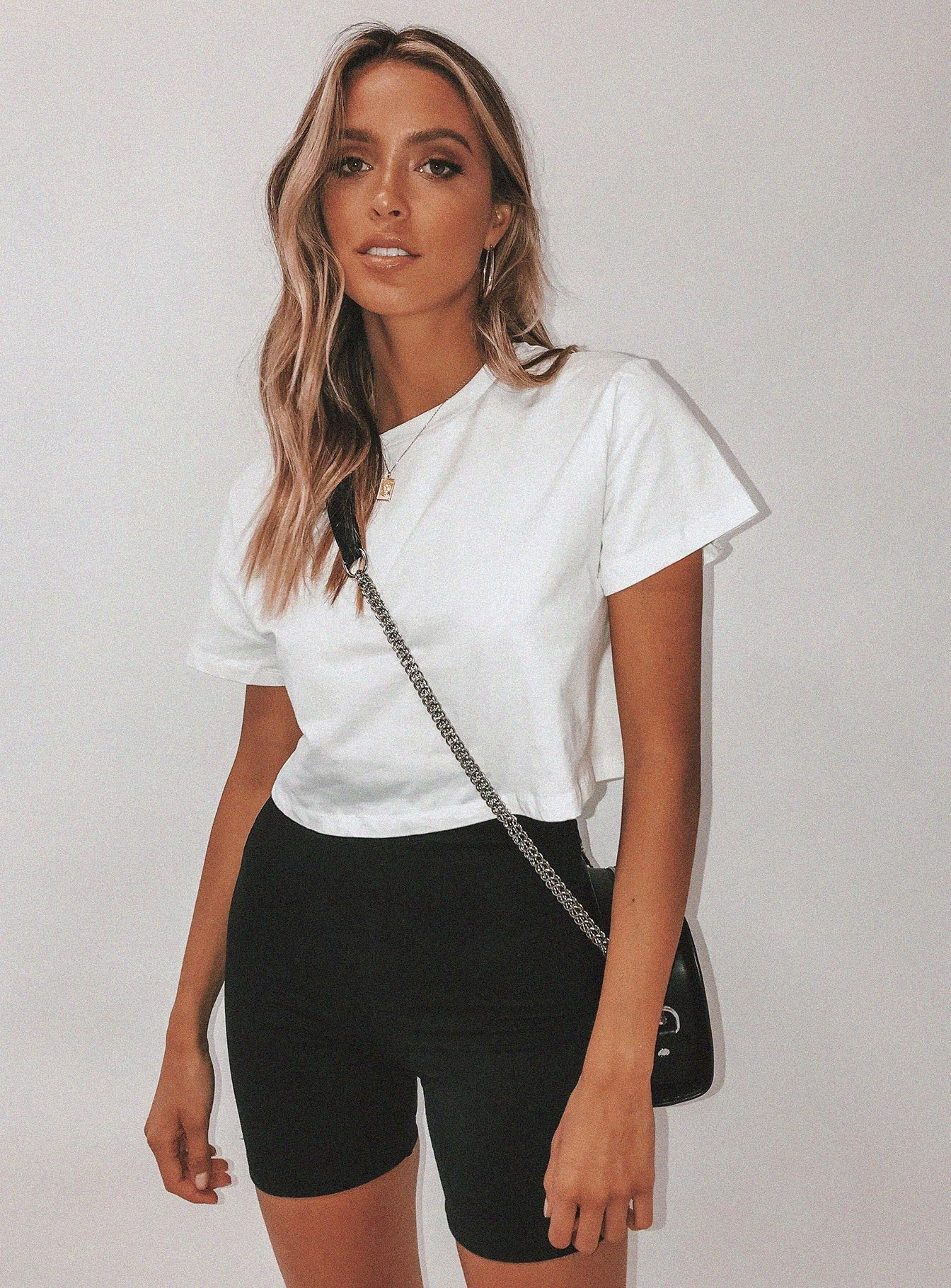 The Polly Tee White