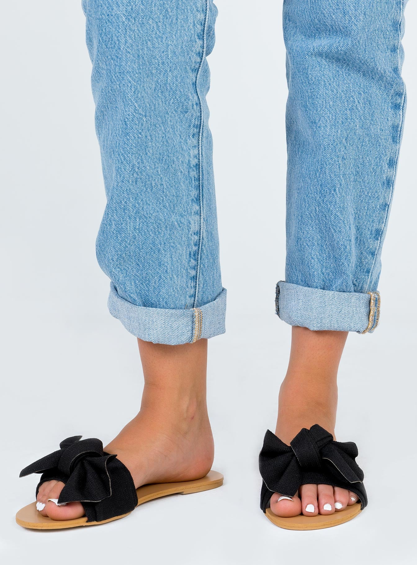 Billini Alpha Flats Black Linen