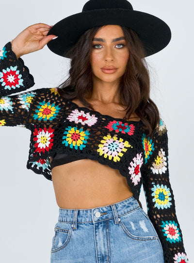 Marva Crochet Top