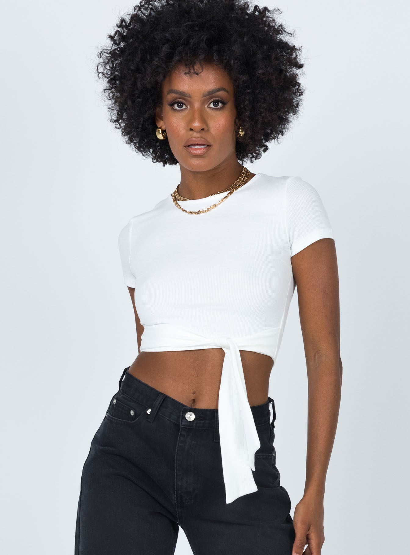 Mescia Top White