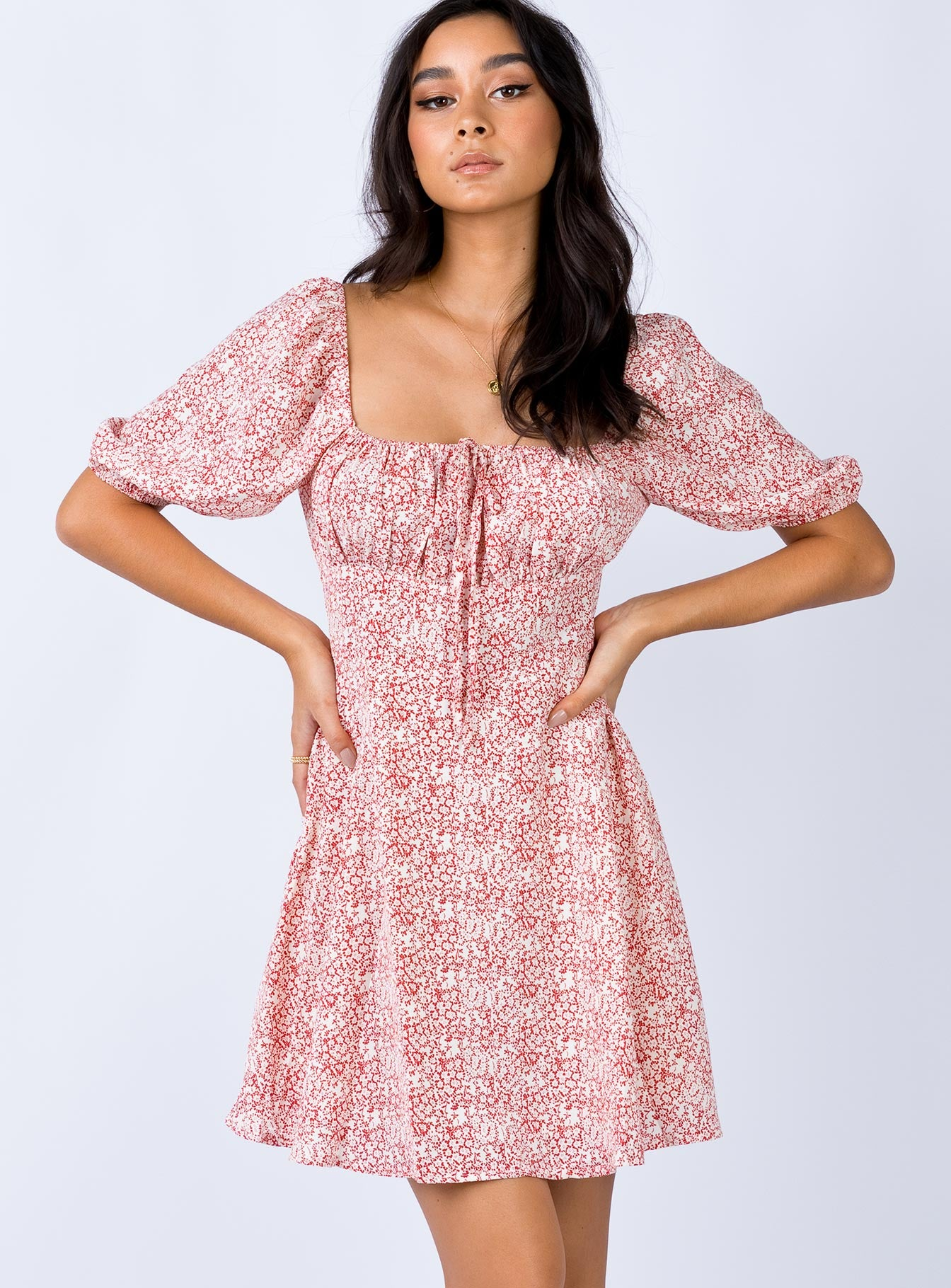 The Elmore Mini Dress Pink