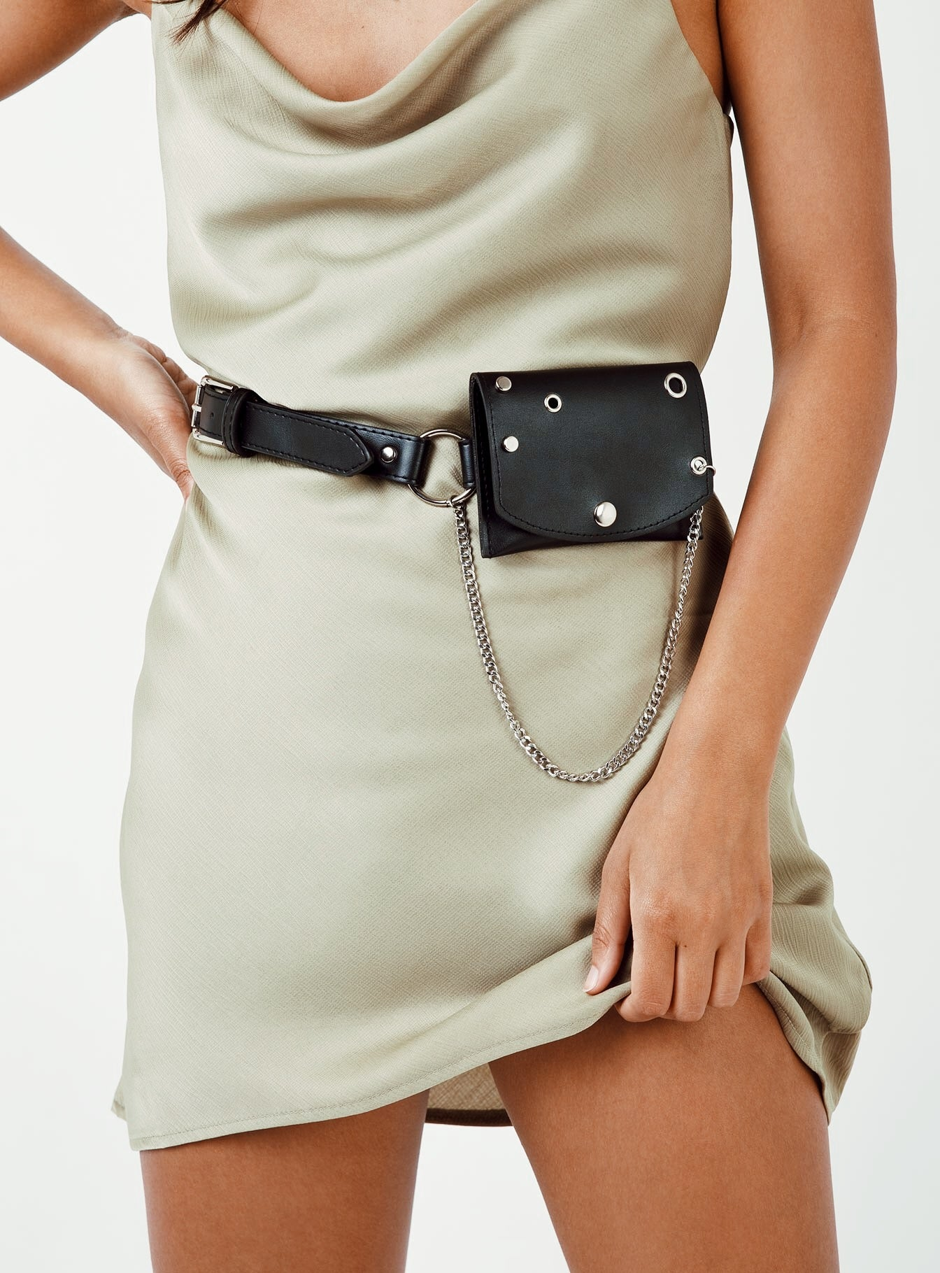 Xanthe Waist Belt Bag Black