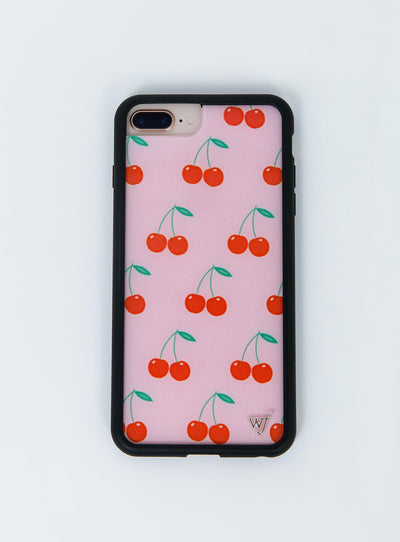 Wildflower Pink Cherries iPhone 6/7/8 Plus Case