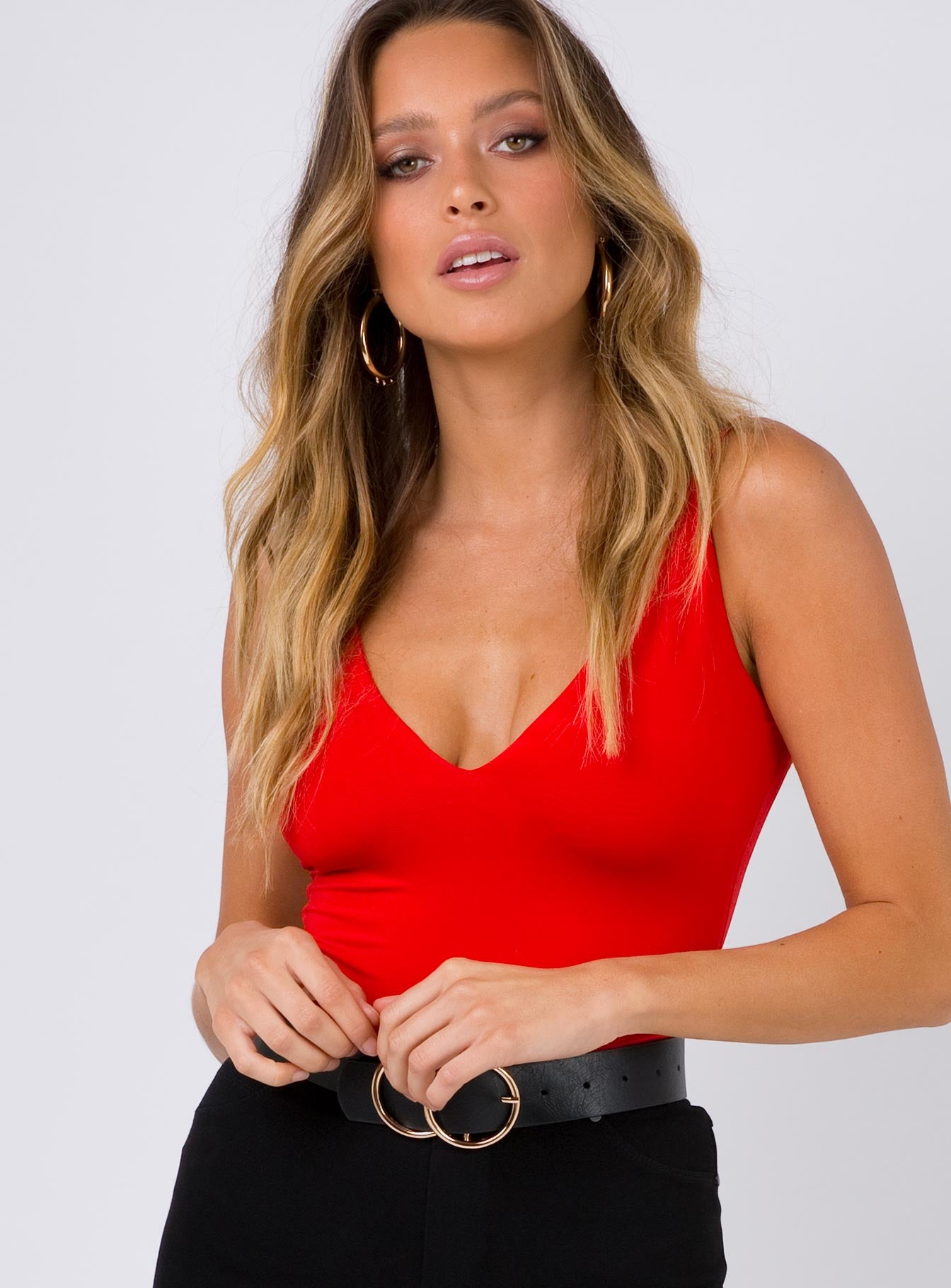 Love Bug Bodysuit Red
