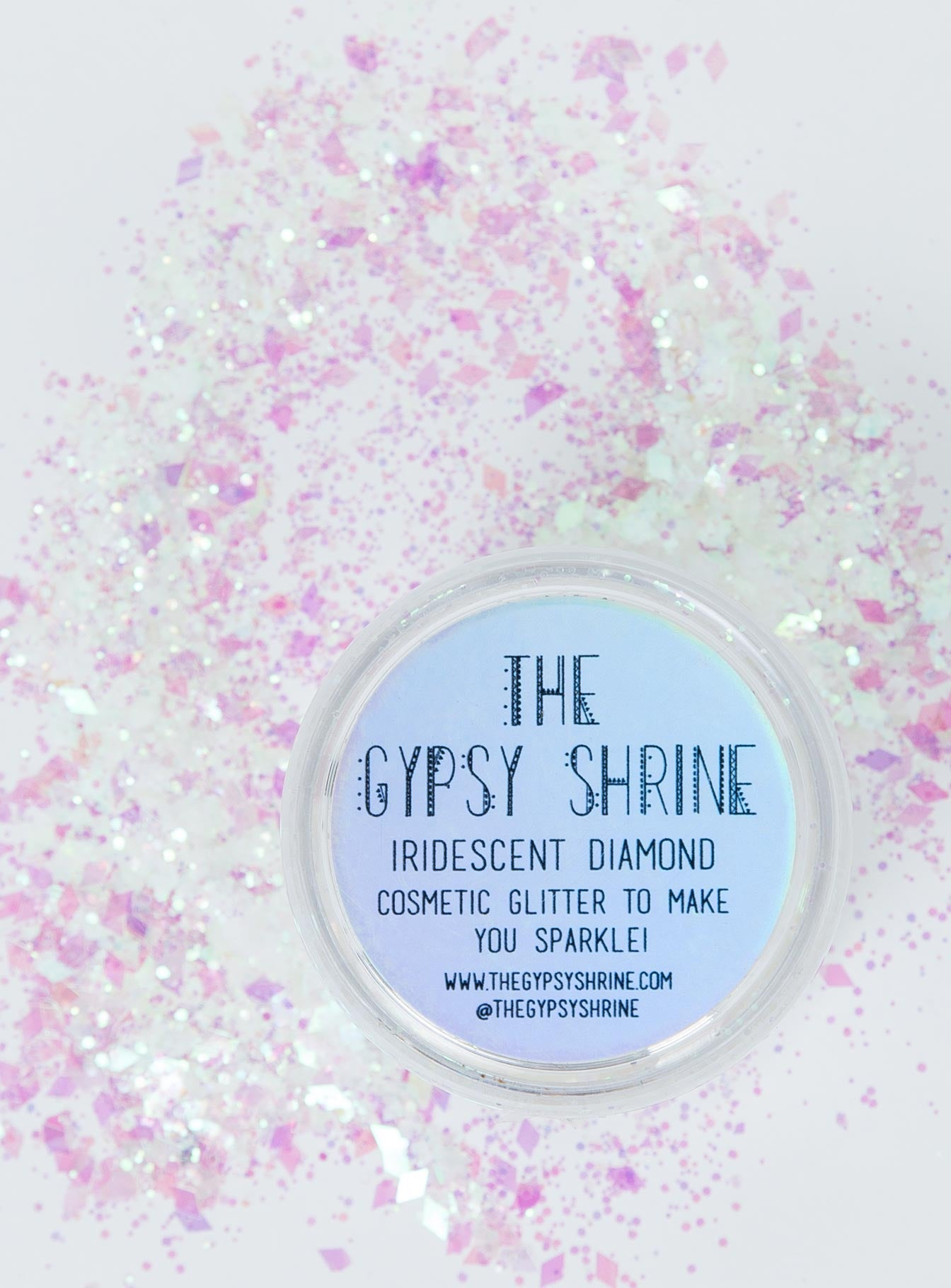 The Gypsy Shrine Iridescent Diamond Glitter