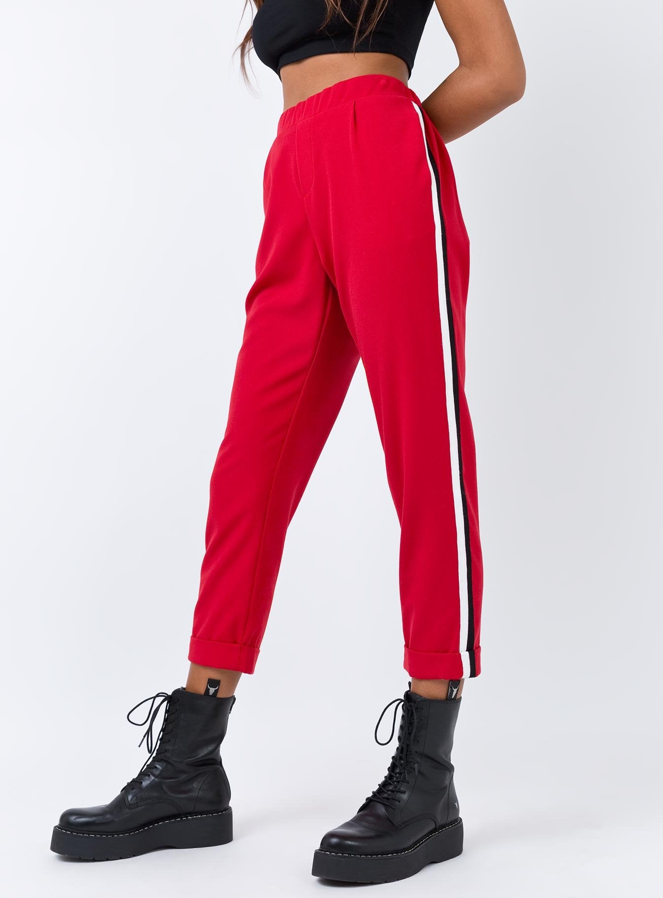 The McQueen Pants Red