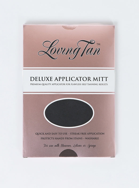Loving Tan Deluxe Applicator Mitt Black
