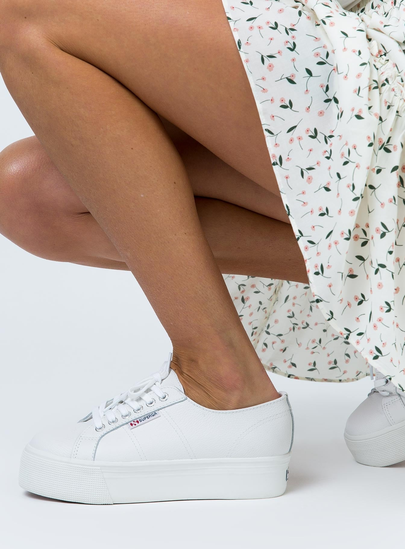Superga 2790 Leather White
