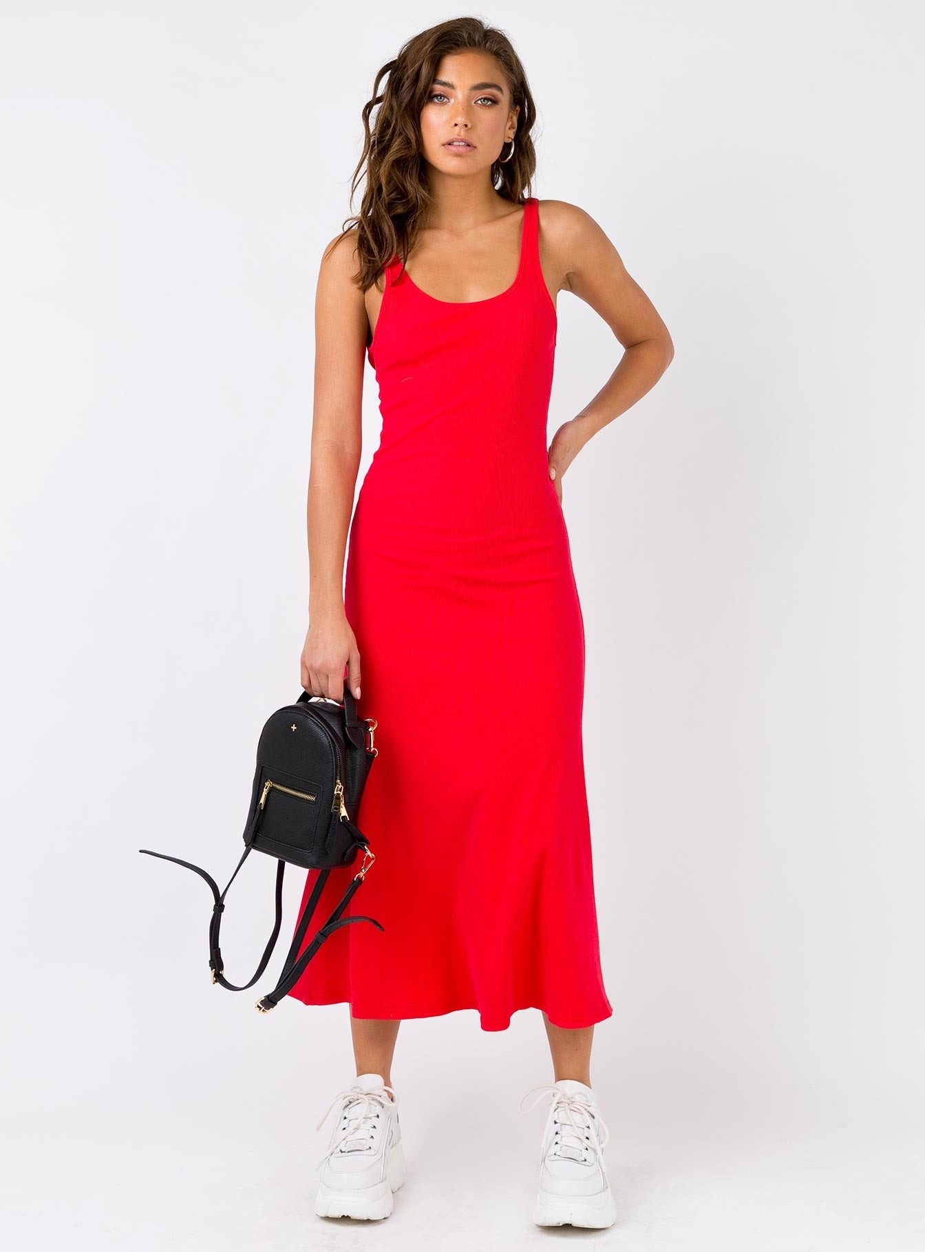 Pipa Maxi Dress Red