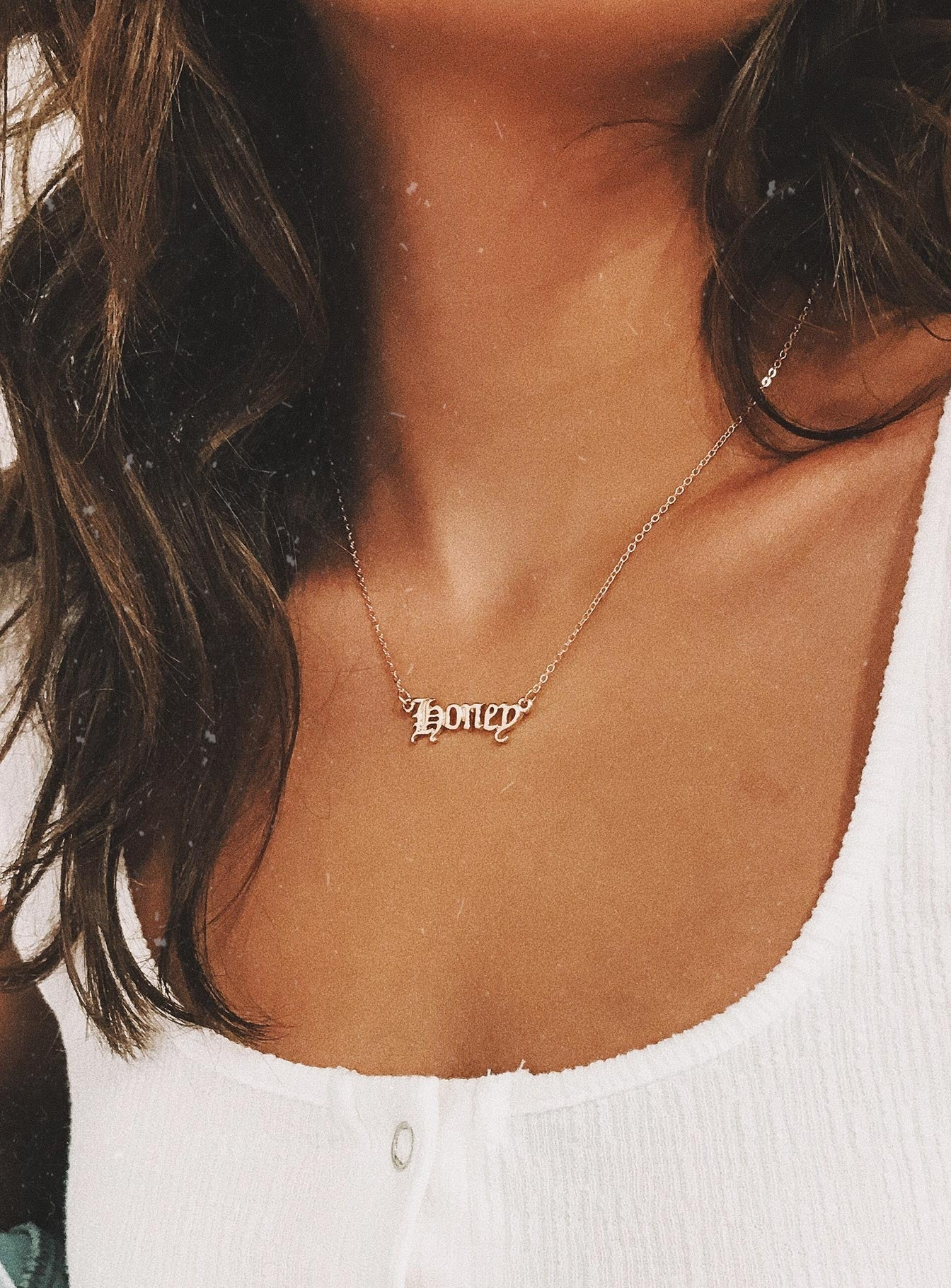 Honey Necklace Gold