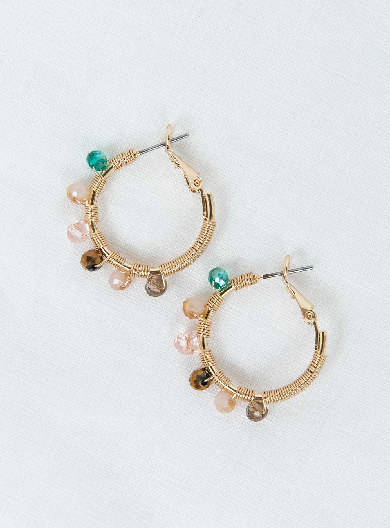 Eva La Rue Hoops Gold