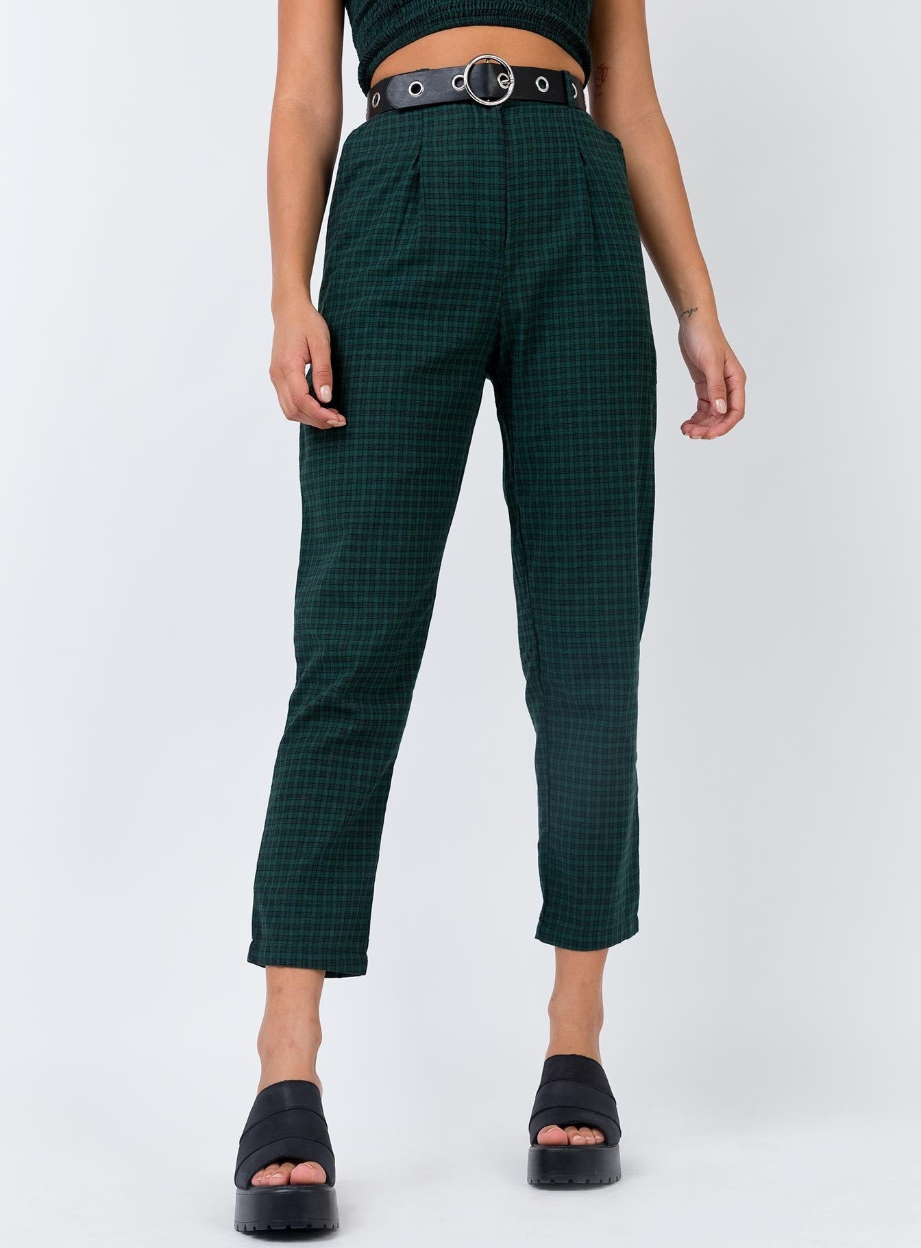 TWIIN Control Pant Forest