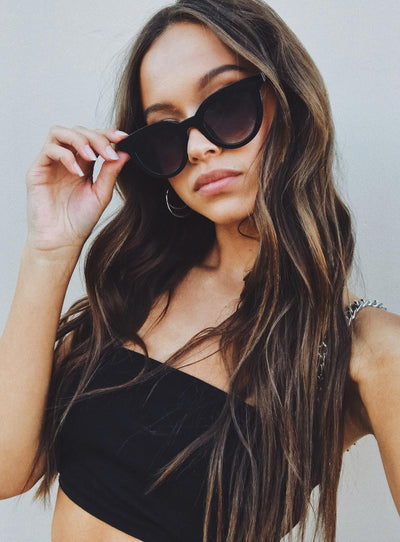 Minkpink Savvy Sunglasses Black