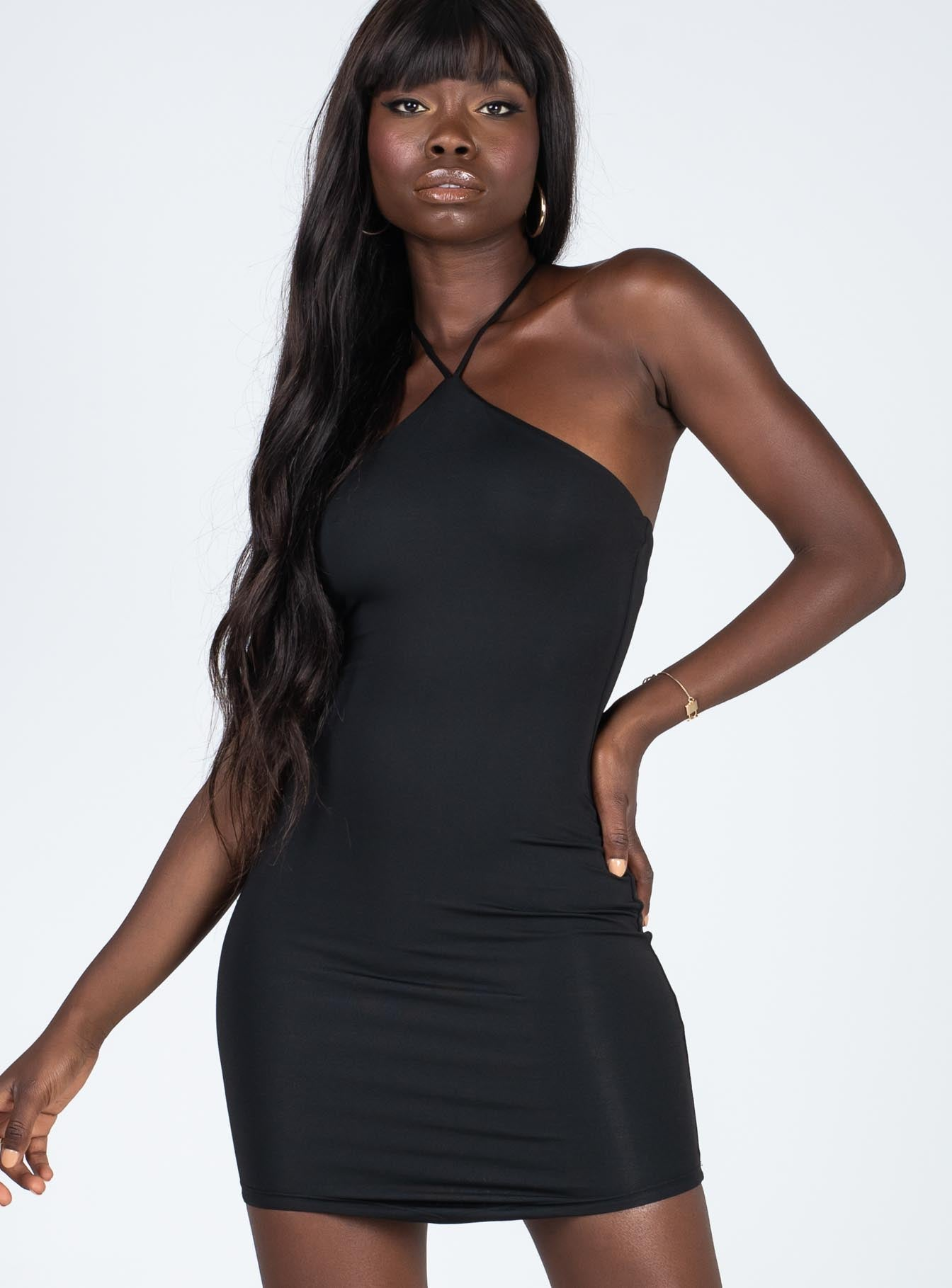 Carter Mini Dress Black