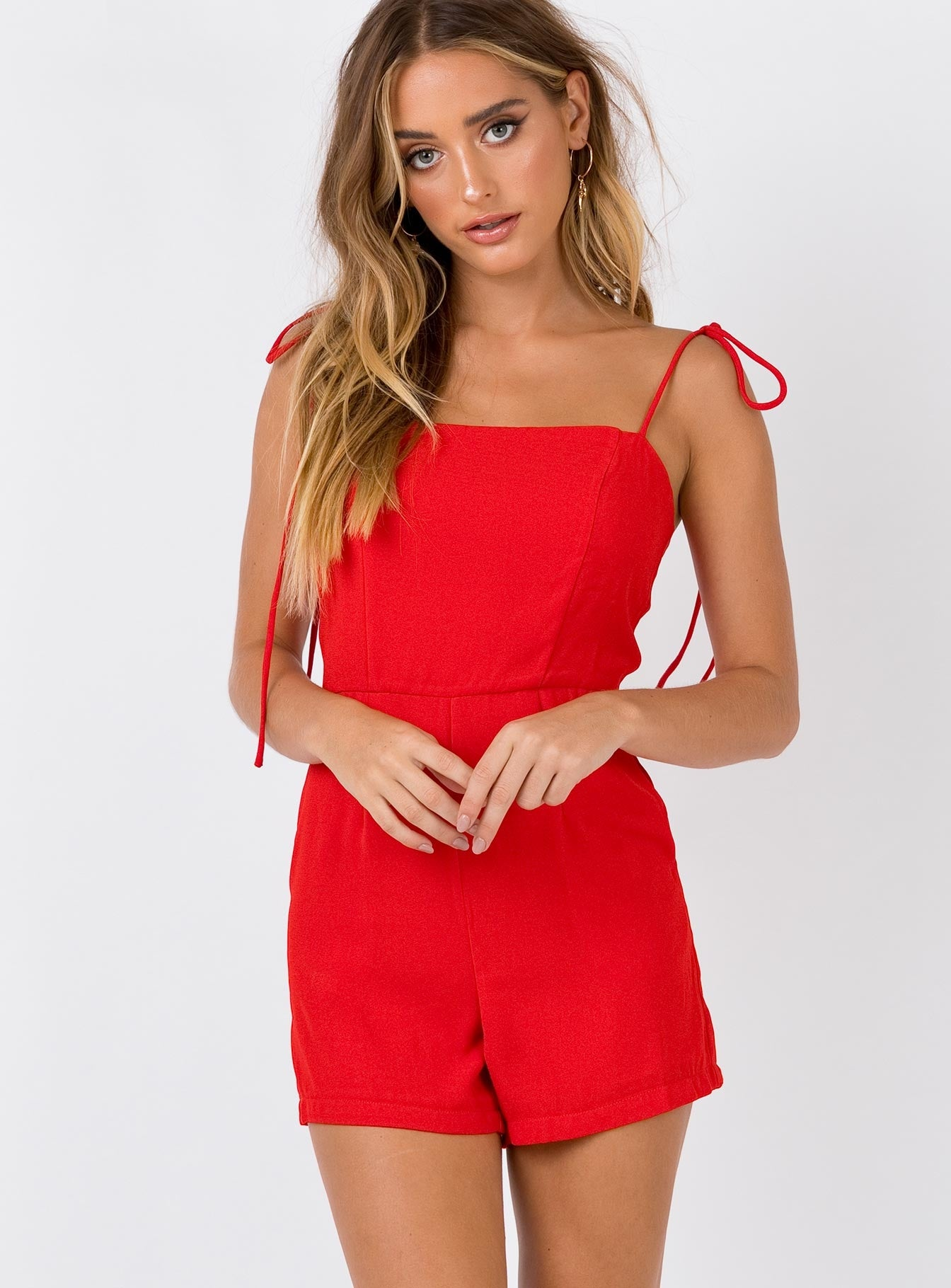 Dido Playsuit Red