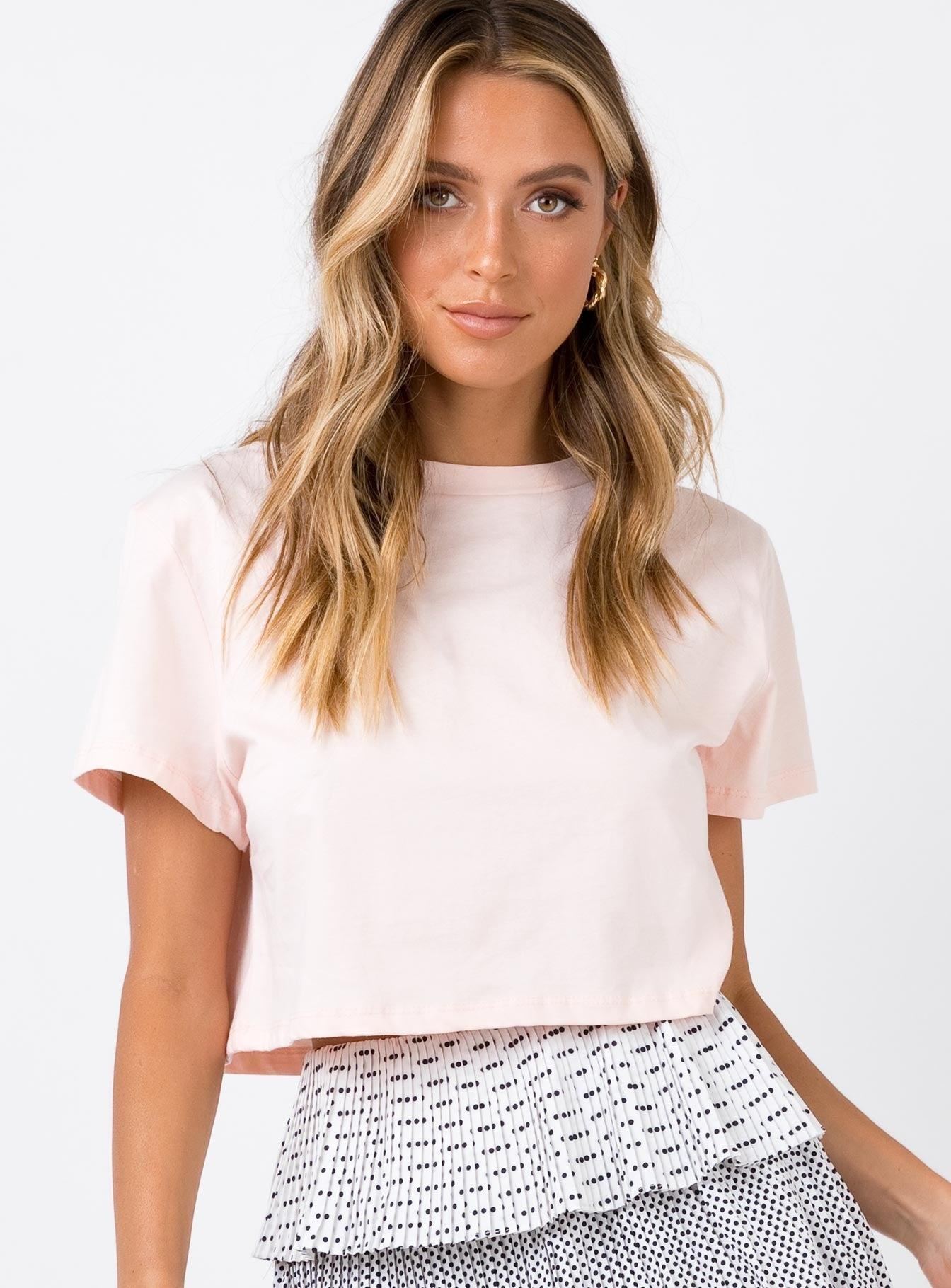 The Polly Tee Soft Pink