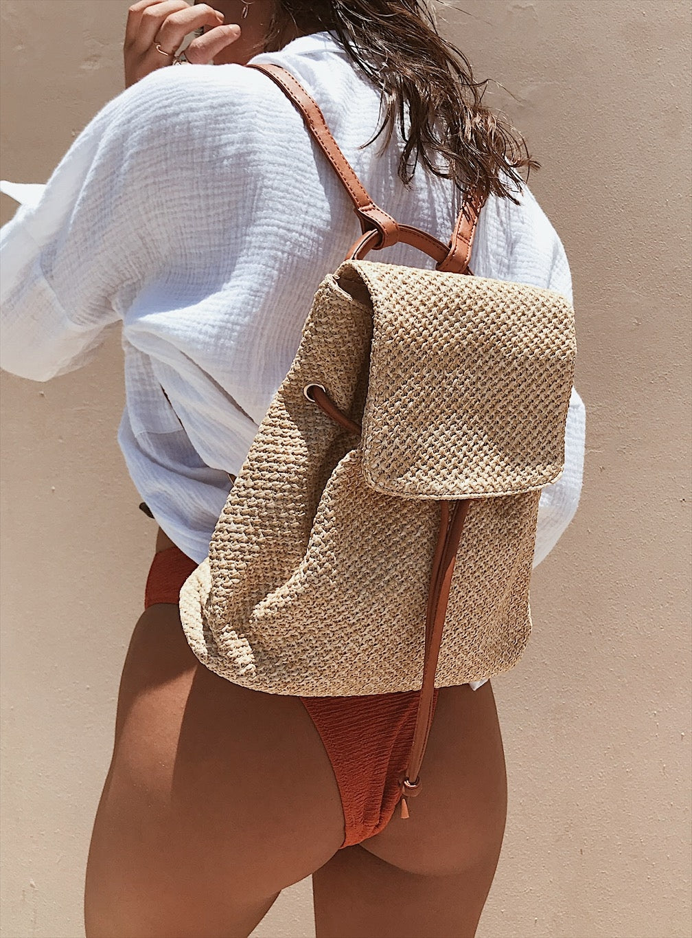 The Dunes Backpack Natural