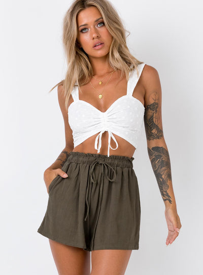 Wheatly Shorts Khaki