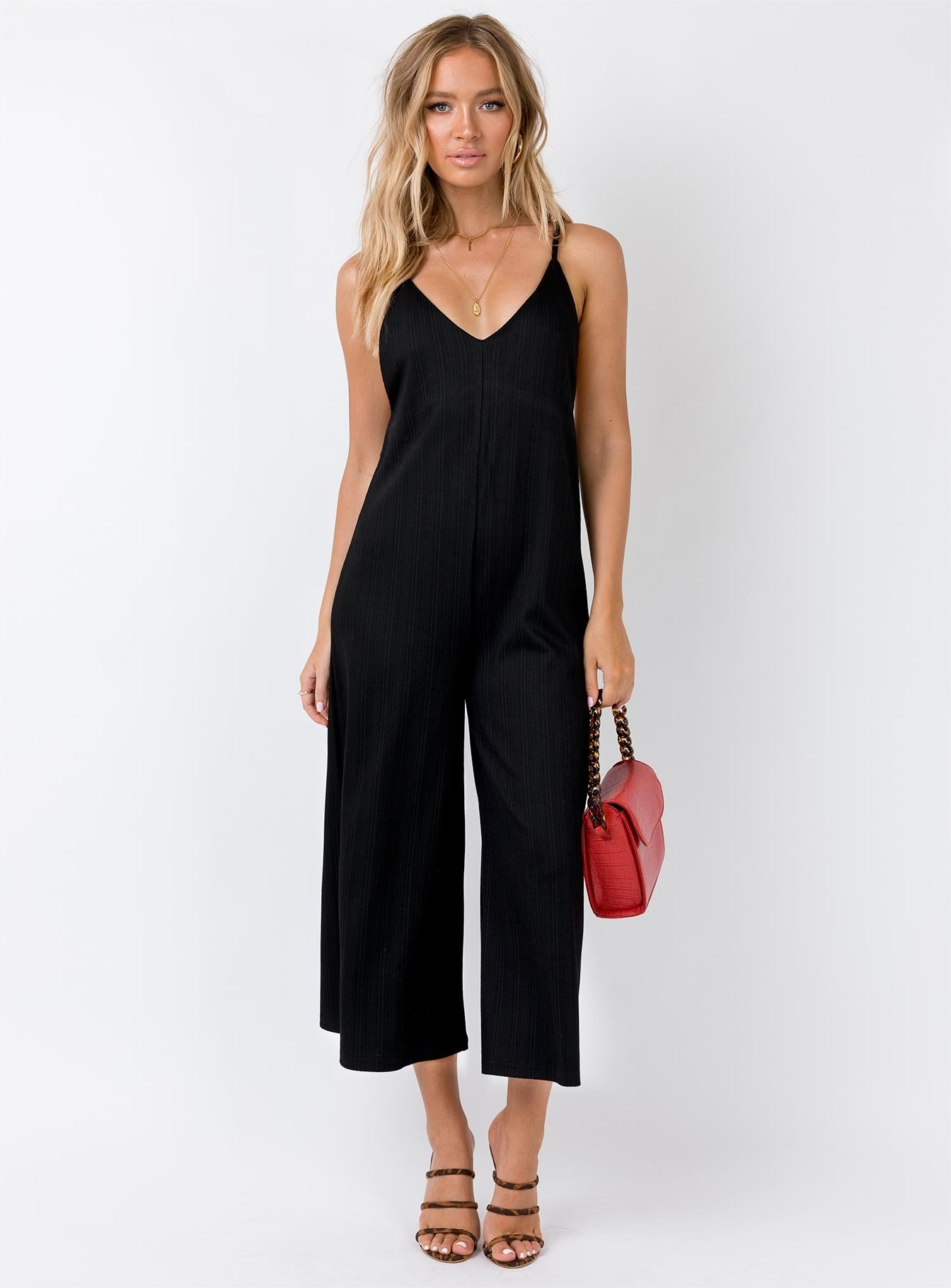 TWIIN Journey Jumpsuit Black