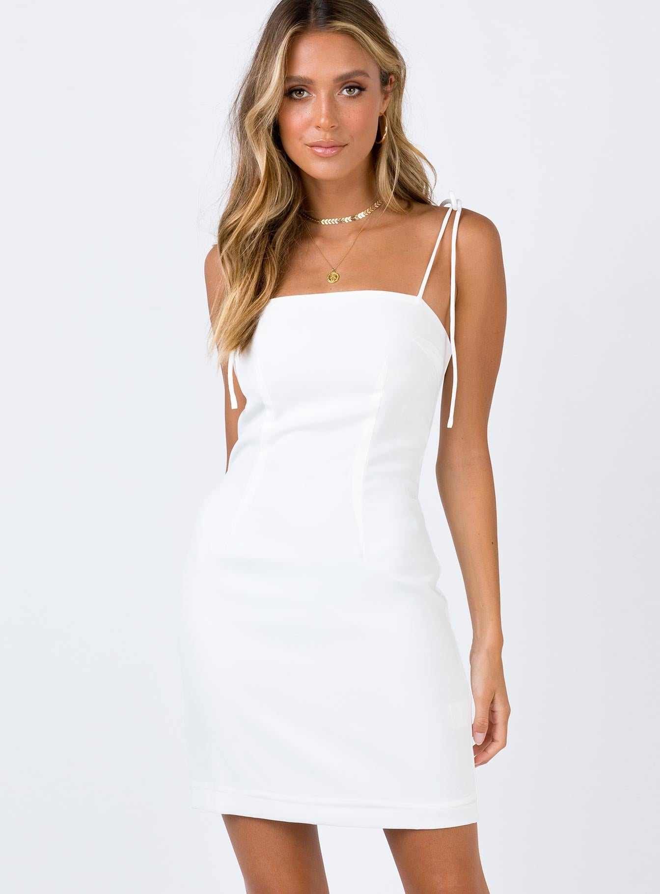 Donya Mini Dress White