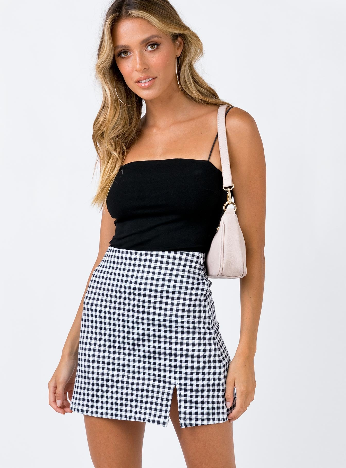 Wilson Mini Skirt Black