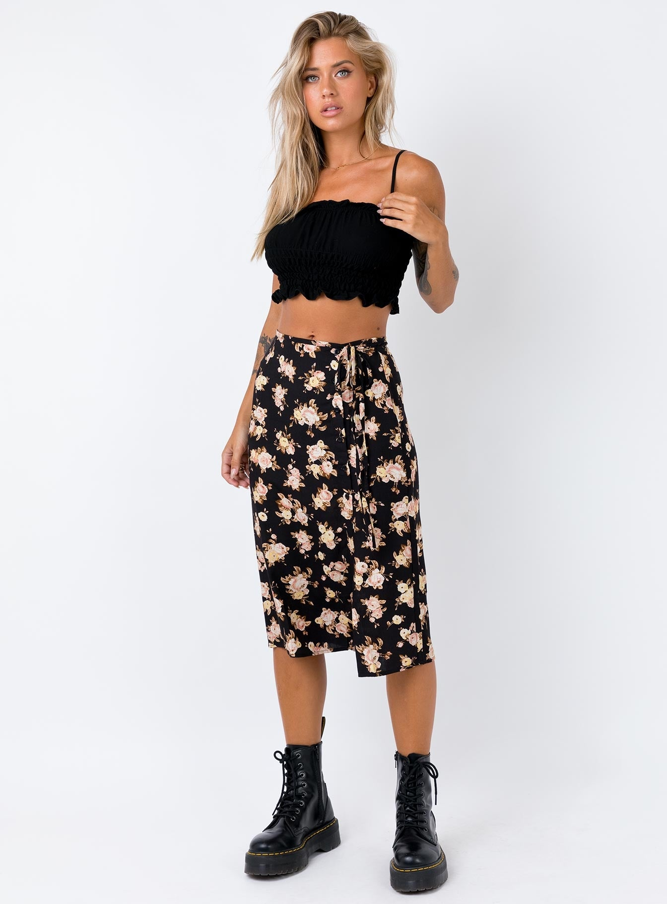 Motel Gamaris Skirt Black