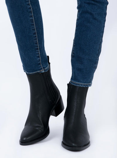 Billini Eamon Boots Black Burnished