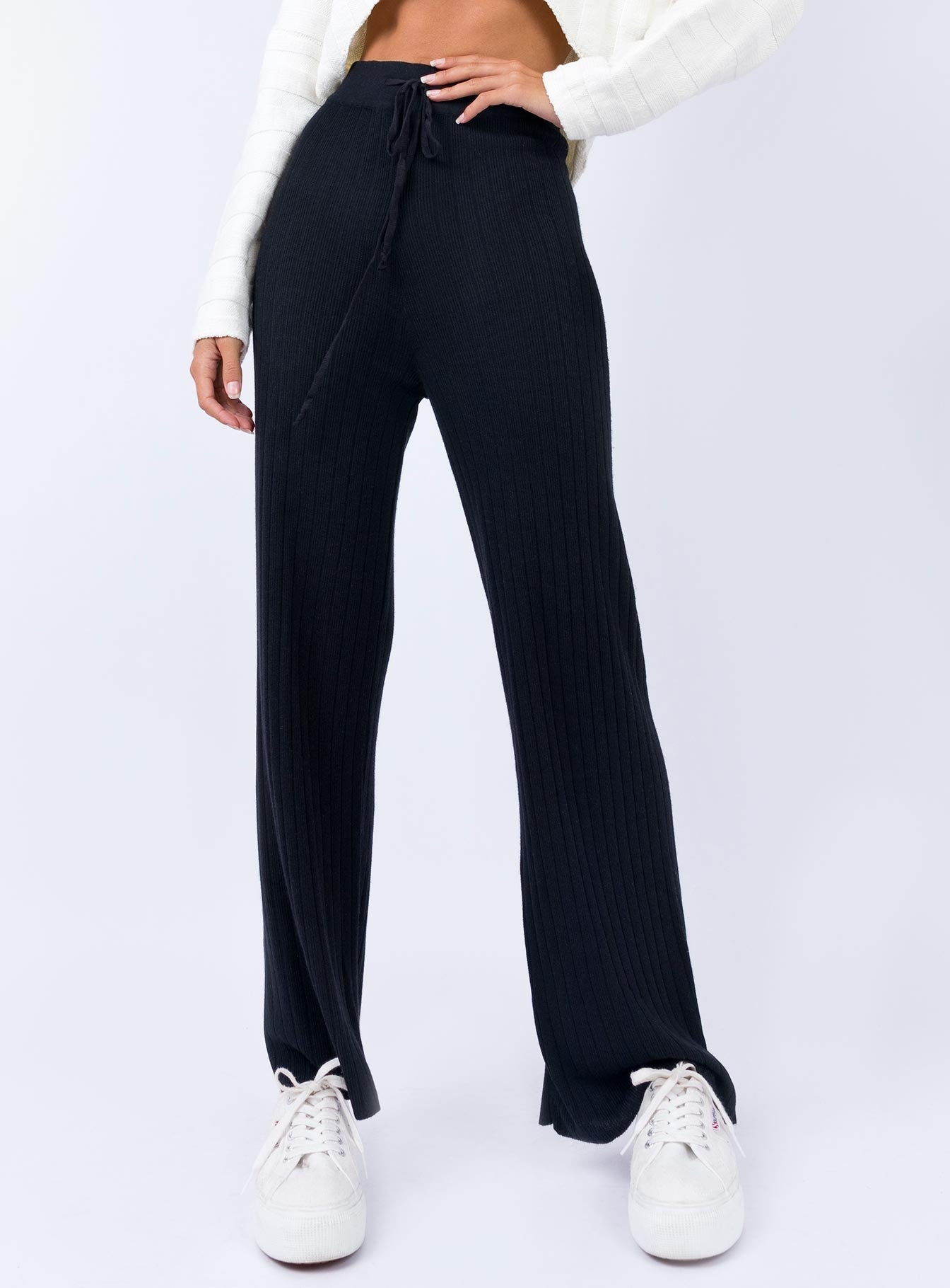 Majid Pants Black