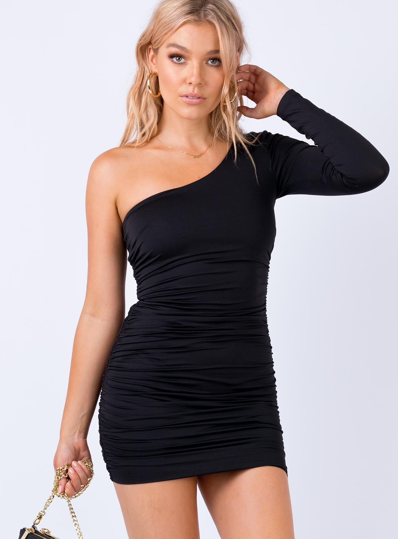 Haliware Mini Dress Black