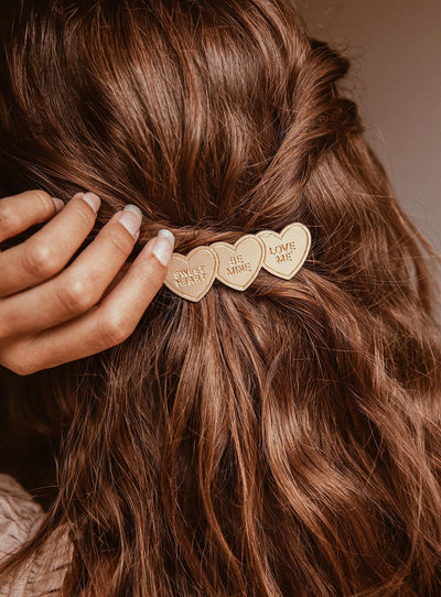 Third Love Hair Clip Gold