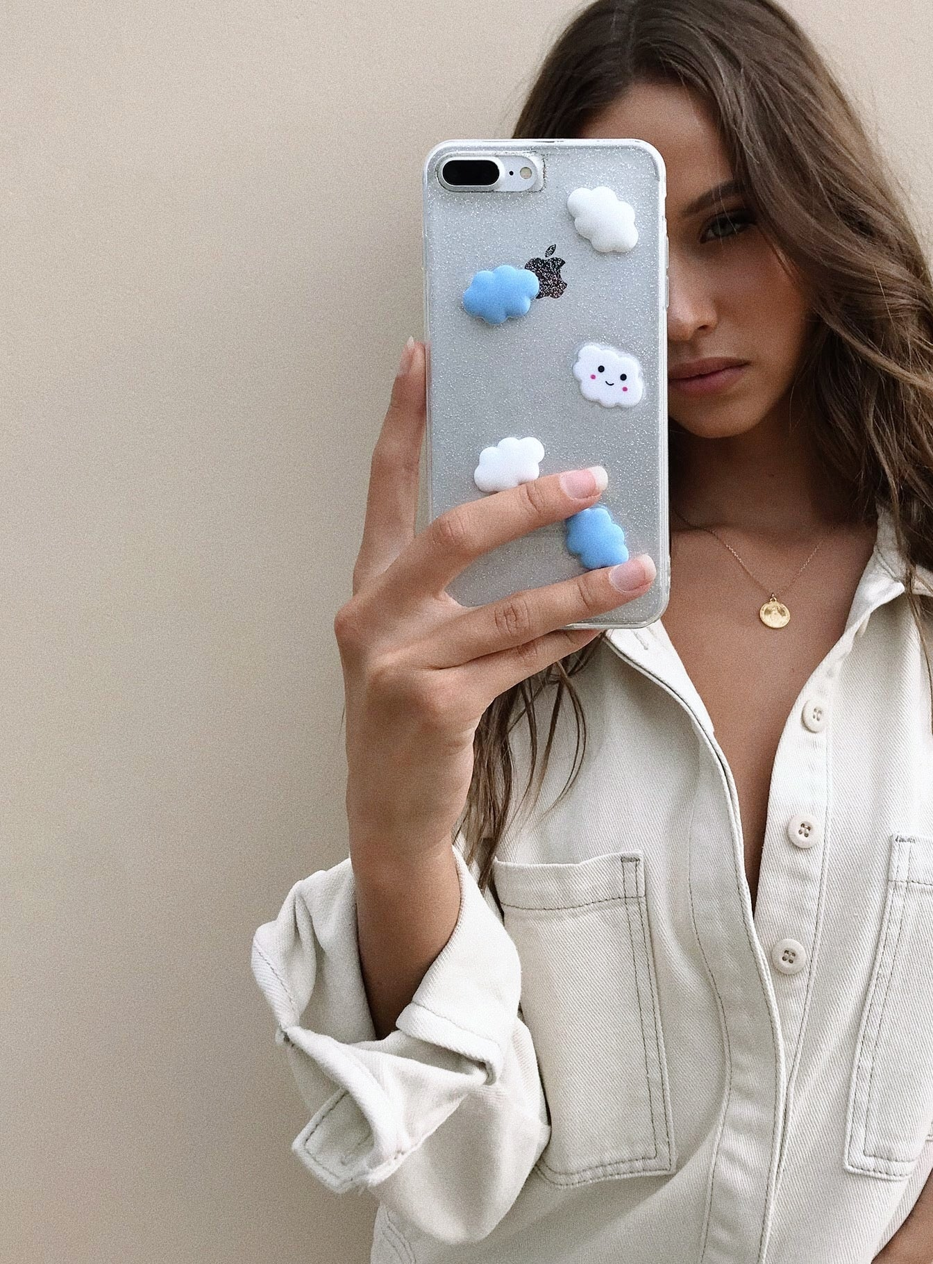 Stormy Iphone Case White/Blue