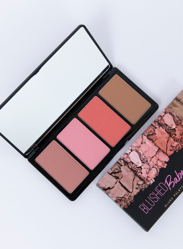 L.A. Girl Fanatic Blush Palette Blushed Babe