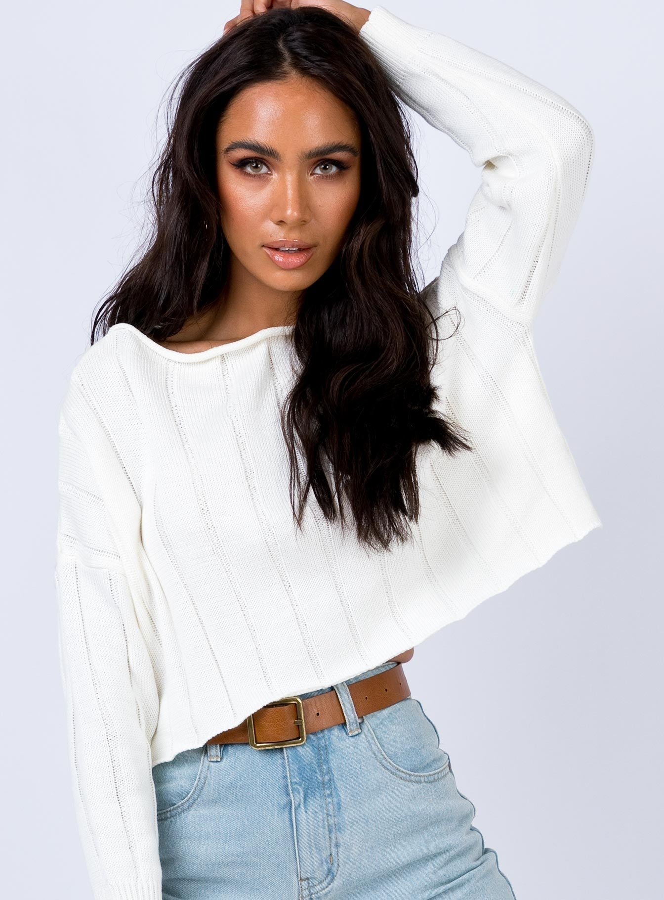 Depths Jumper White
