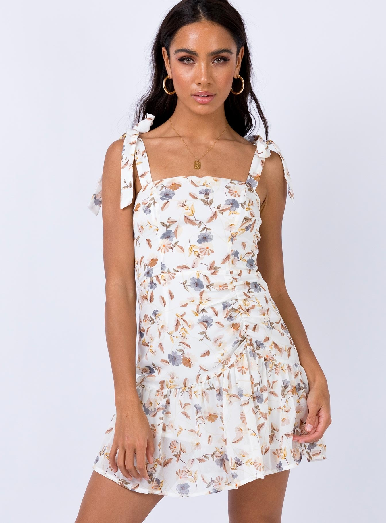 The Dobbie Dress White
