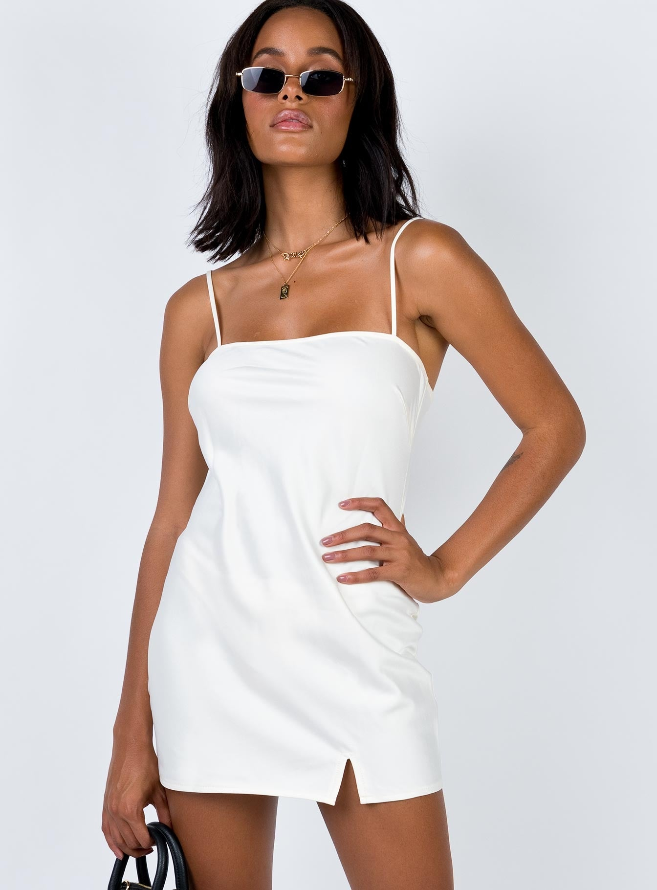 Marseille Mini Dress Champagne