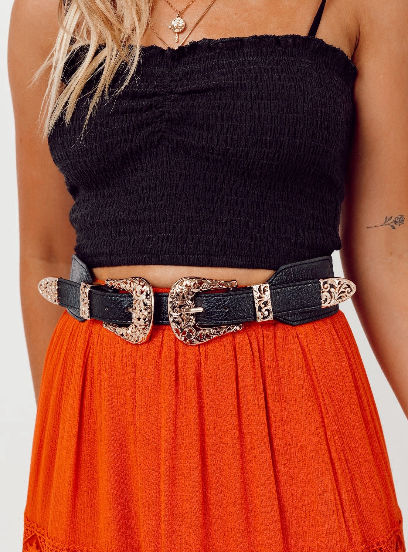 Ready Or Not Belt Black/Gold