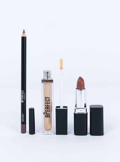 BPerfect Cosmetics Born Ready Lip Kit Secret