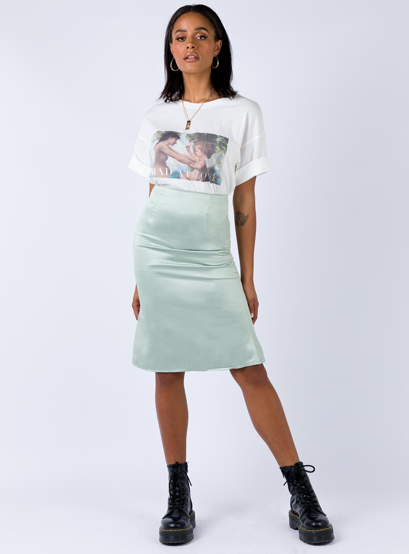 ethereal-skirt-mint by princess-polly