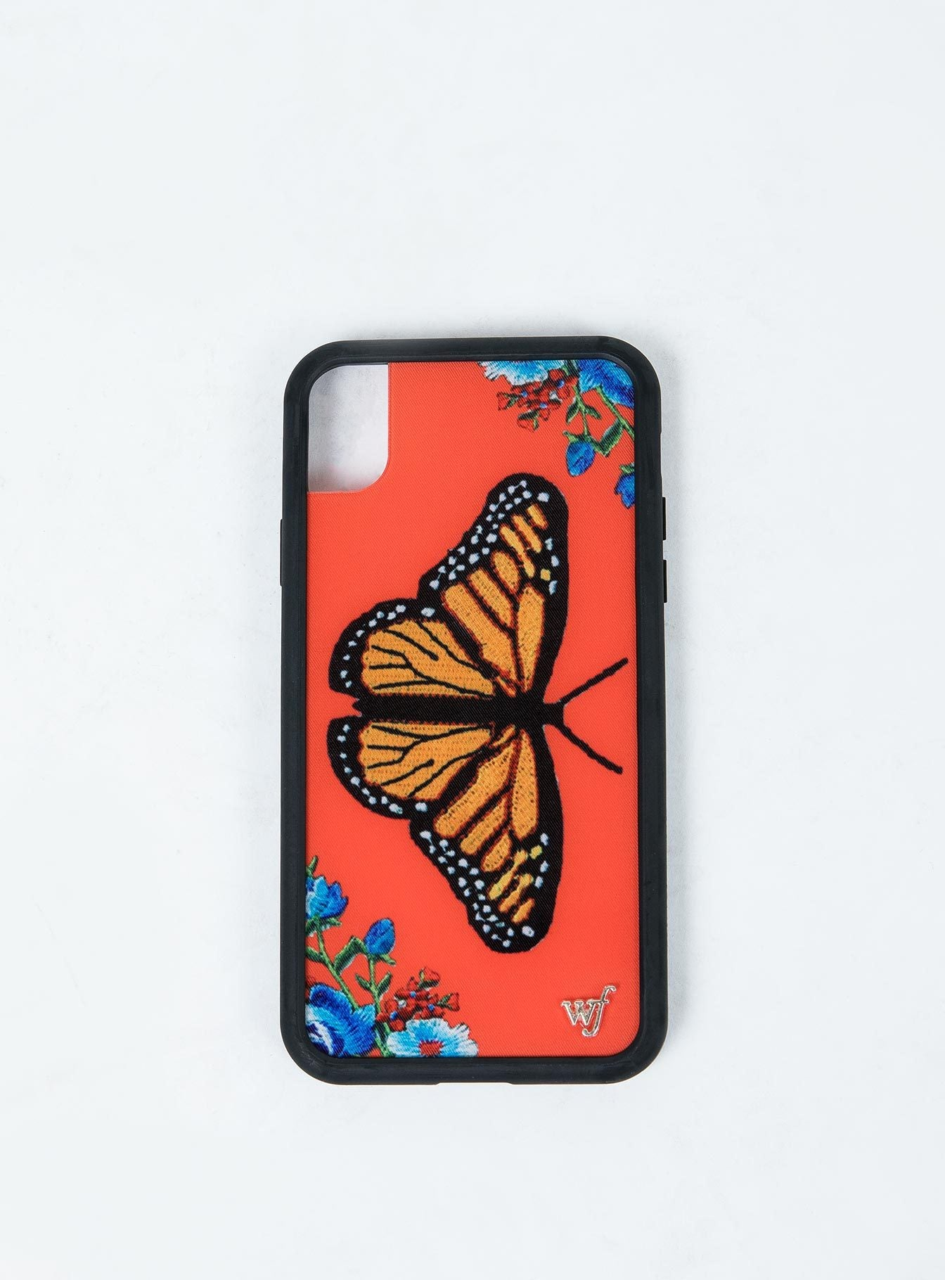 Wildflower Butterfly iPhone XR Case