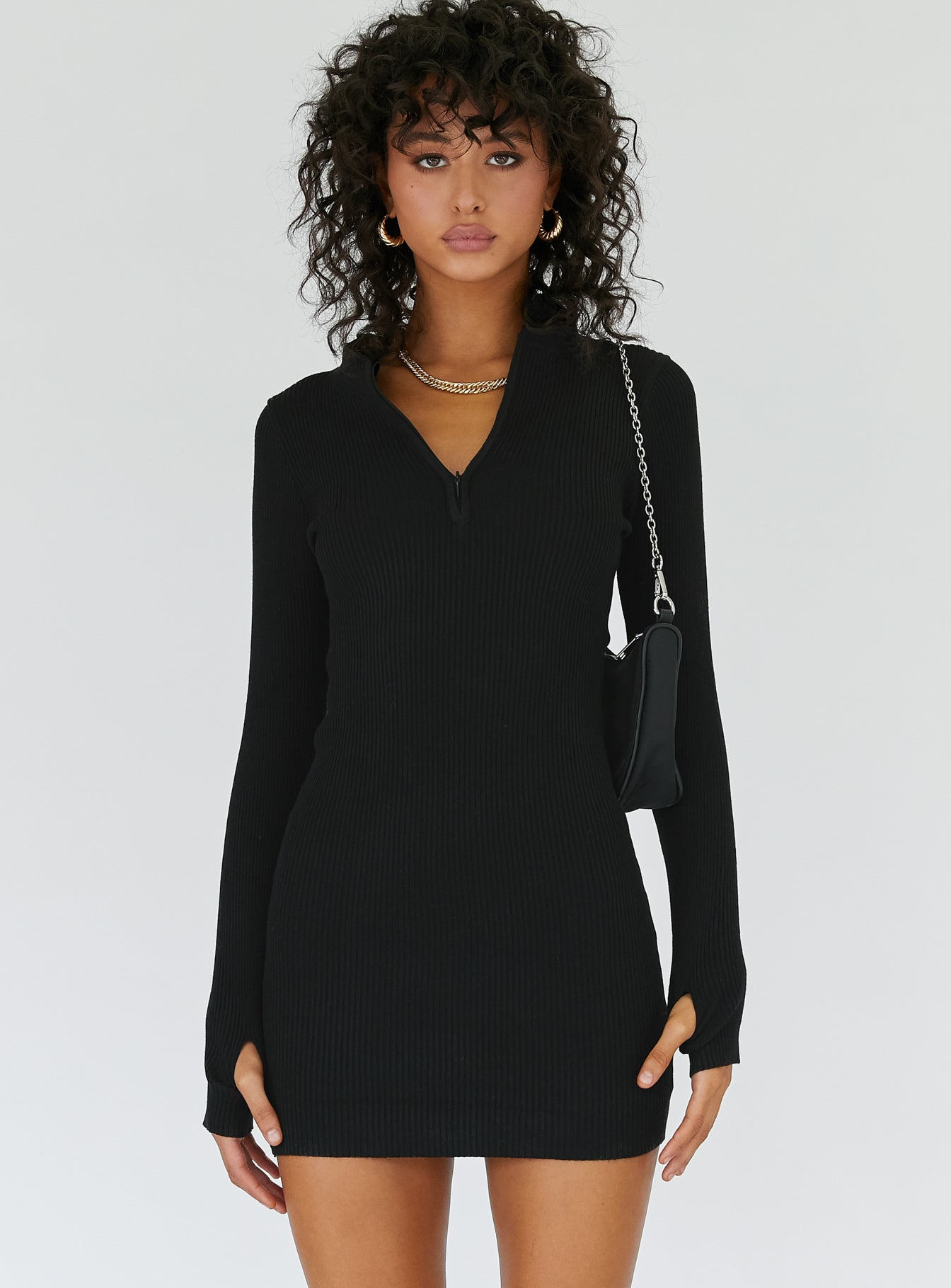 Aubrey Mini Dress Black