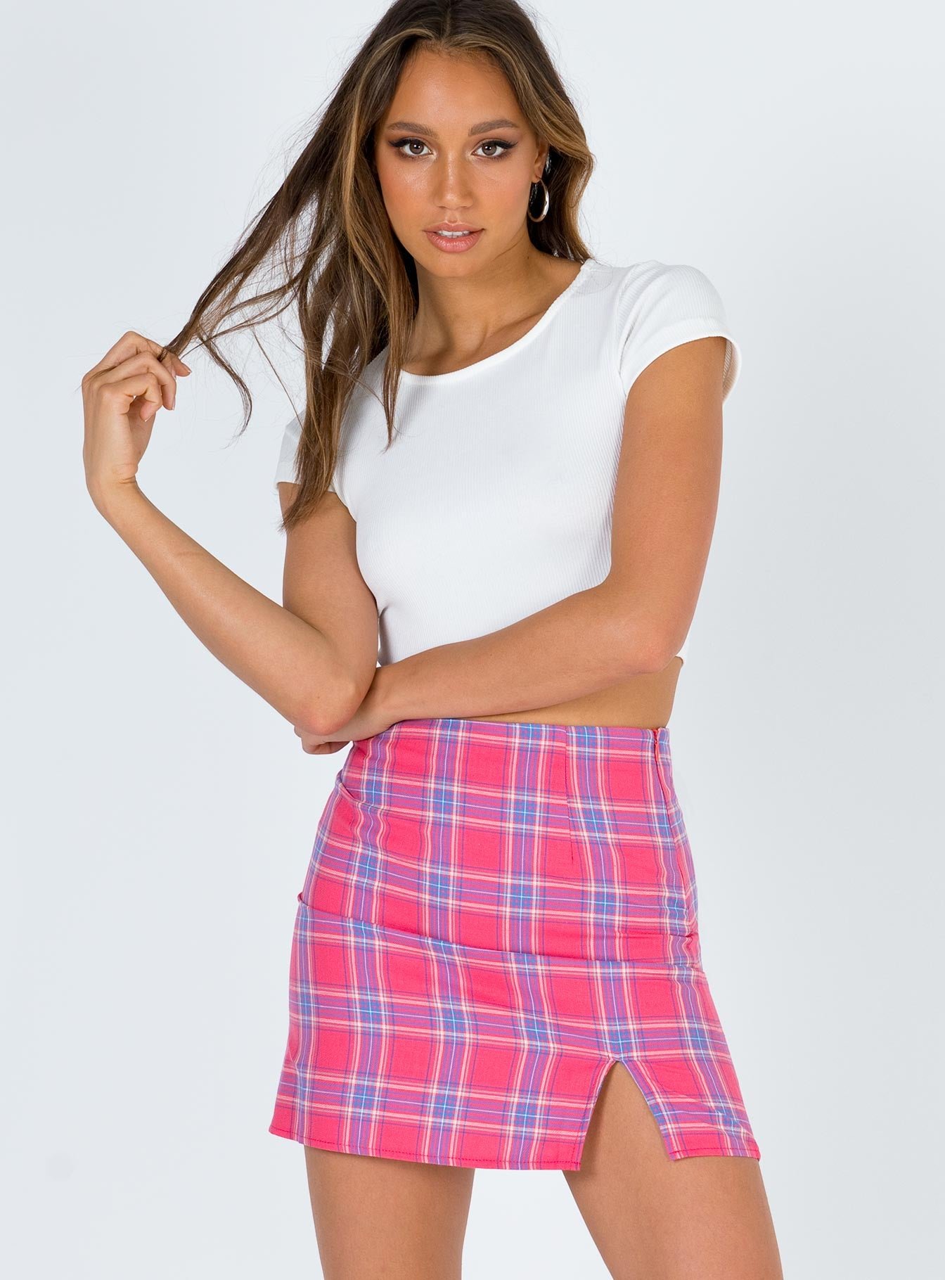 The Briggs Mini Skirt by Princess Polly