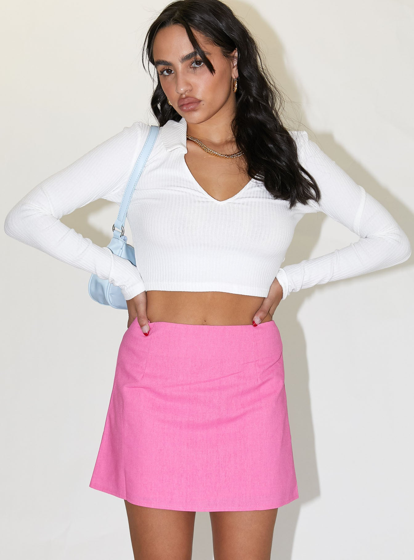 Selby Mini Skirt Pink