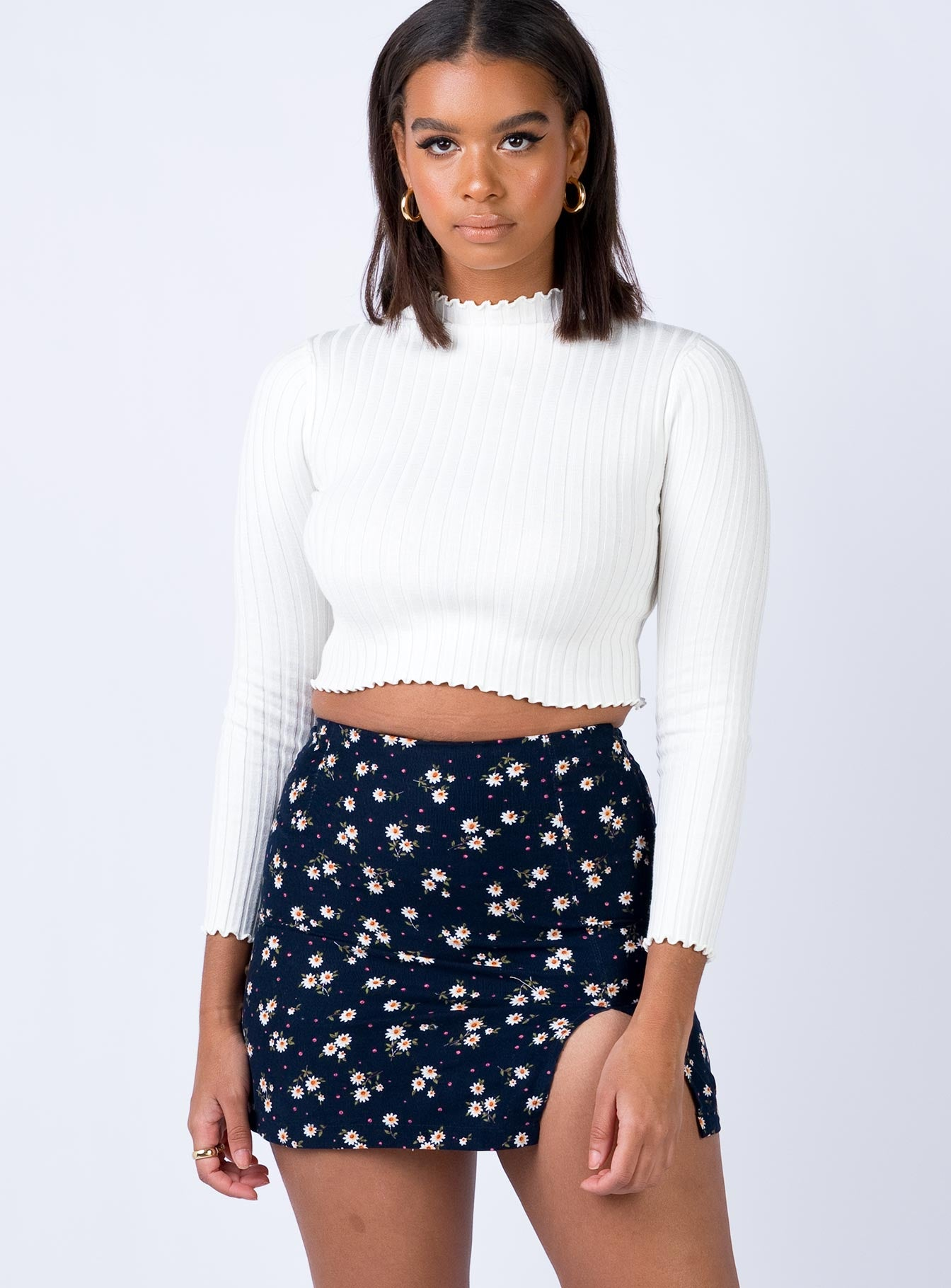 Luisa Mini Skirt Navy