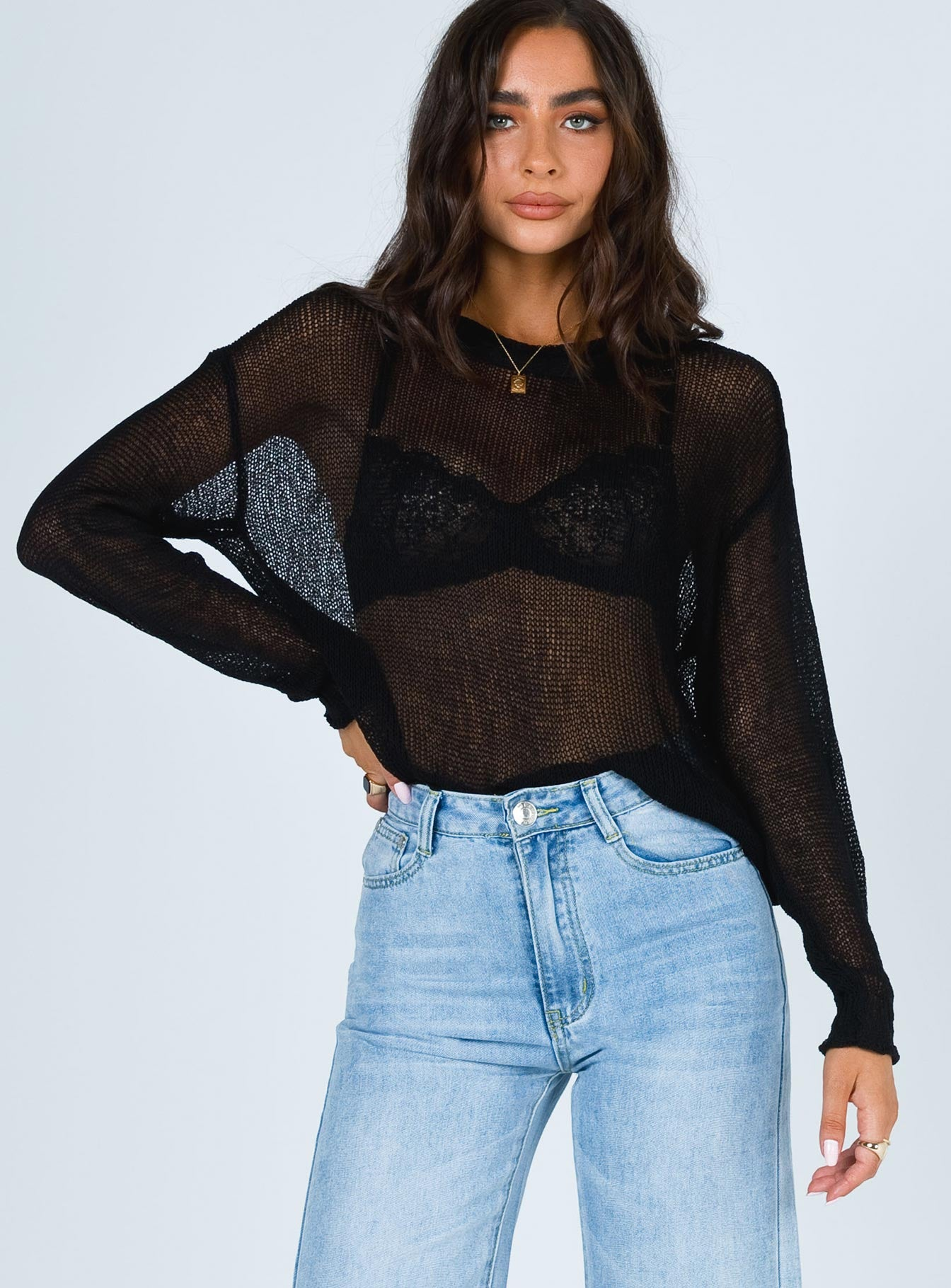 Ava Sheer Jumper