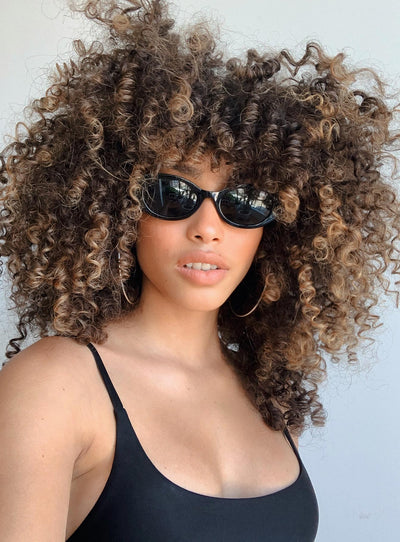 Flirty Sunglasses Black