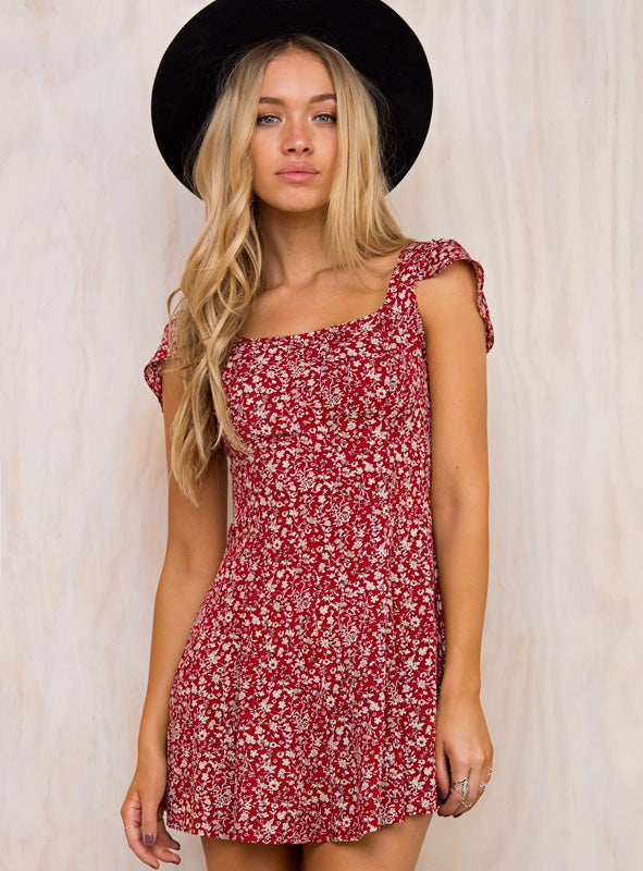 Redding Floral Mini Dress