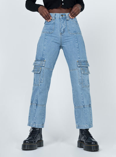 The Stacey Jean Light Wash Denim